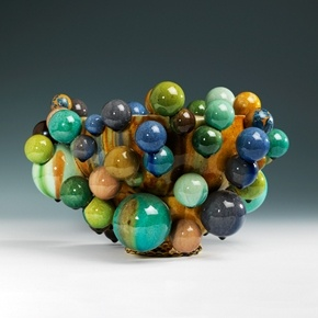 A Large Floating Atomic Bowl, 2011, Kate Malone