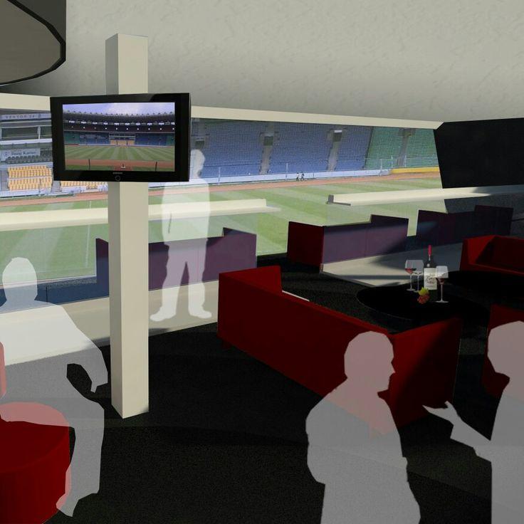 Redesign VIP-VVIP room at GBK Stadium Jakarta   Presindential lounge