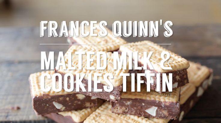 Frances Quinn's Malted Milk & Cookies Tiffin