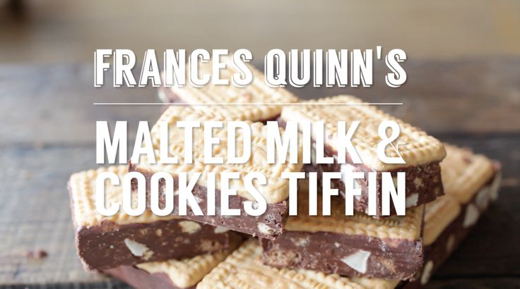 Frances Quinn's Malted Milk & Cookies Tiffin