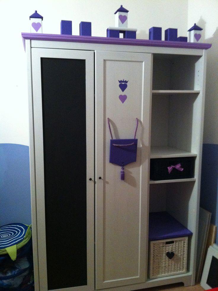 Oltre 25 fantastiche idee su mobili vernice lavagna su for Armadio shabby ikea