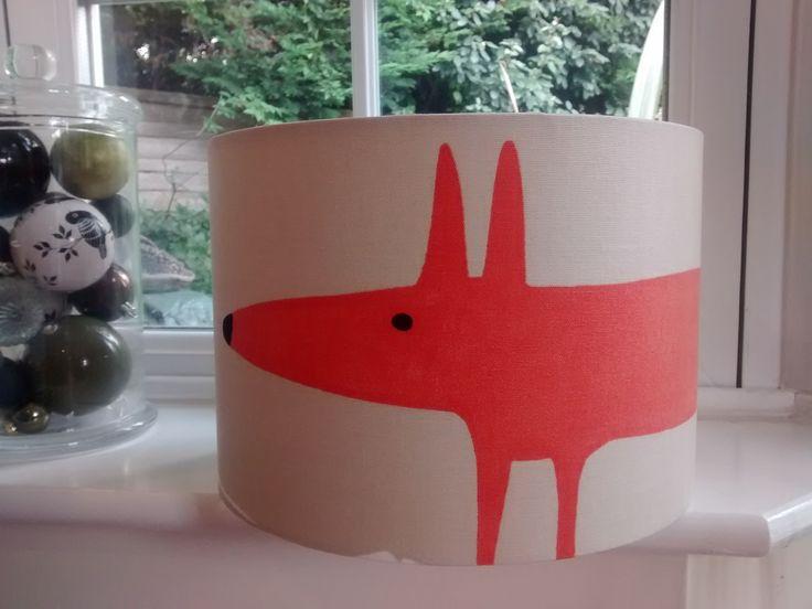 A Fantastic Handmade Mr Fox Lampshade from £25.00