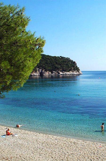 Velanio Beach, Skopelos Island (Sporades), Greece