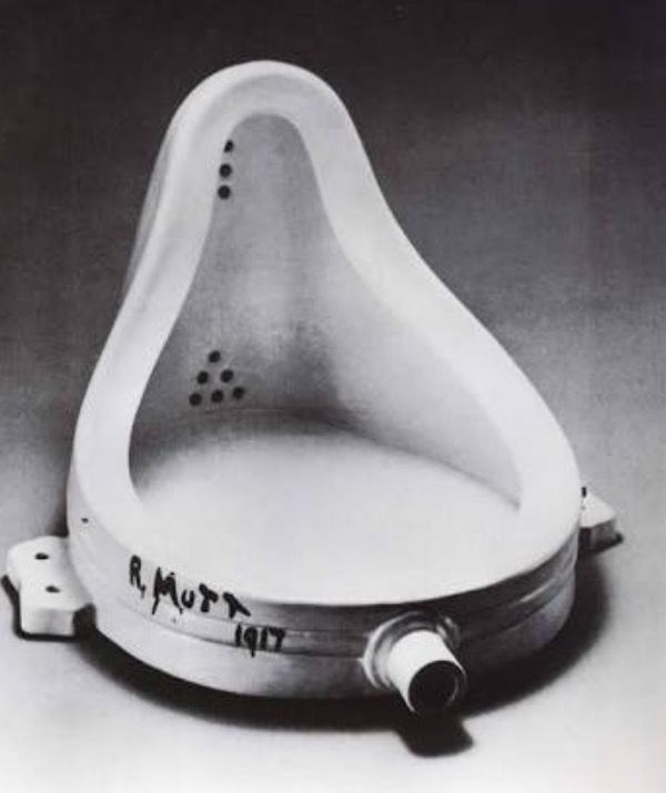 An example of Dadaism-Marcel Duchamps Urinal - Breahn's Art Lab Workbook — WordPress.com