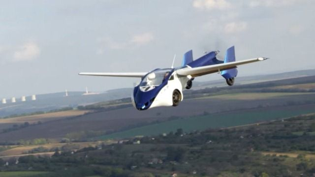#FutureTechnology Concept Flying car AeroMobil 2017
