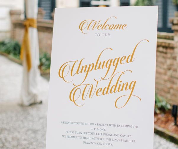 """You're planning a wedding and that means you get a pass when it comes to being forgetful (it's called """"wedding brain"""" and we understand). Th"""