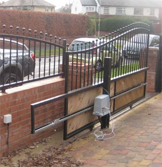 17 Best Images About Gates On Pinterest Automatic Gate