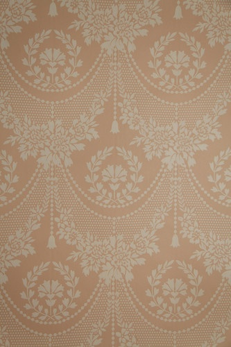 """Vintage Wallpaper """"Quincy Lace"""" by Waterhouse Wallhangings 