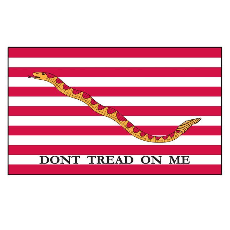 1st Navy Jack: Dont Tread on me Flag
