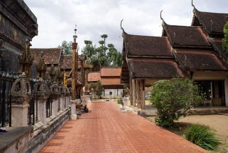 Wat Phra That Lampang Luang, Lampang Province, Thailand - einer der schönsten Tempel Thailands