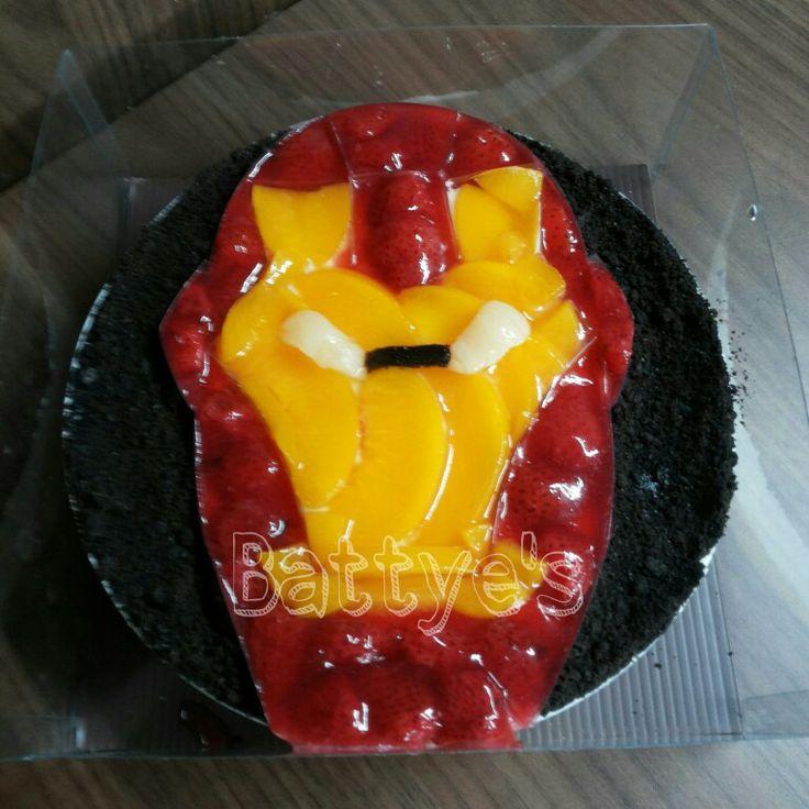 The Iron Man Cheesecake