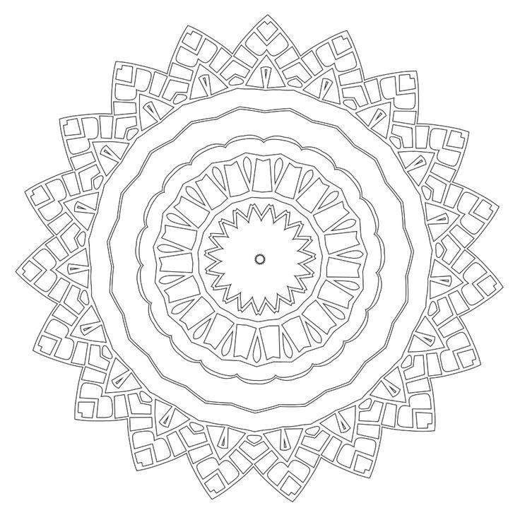 Mandala Coloring Page 56