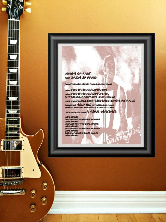 I Was Wrong by Social Distortion printable by PrintableSongParts