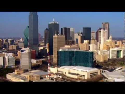 """This is the opening sequence for the 2012 update of """"Dallas,"""" airing Wednesdays on TNT.    The opening features a shortened version of the original theme music, and echoes the original series opening with modernized shots of Dallas in sliding panels.  Unlike the original series, no cast photos are used, and the actors are not listed alphabetically..."""