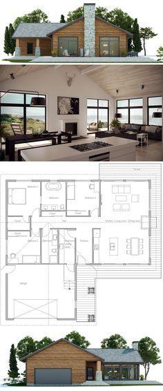 Best 25+ House floor plan design ideas on Pinterest Floor plan - kleine offene k amp uuml che