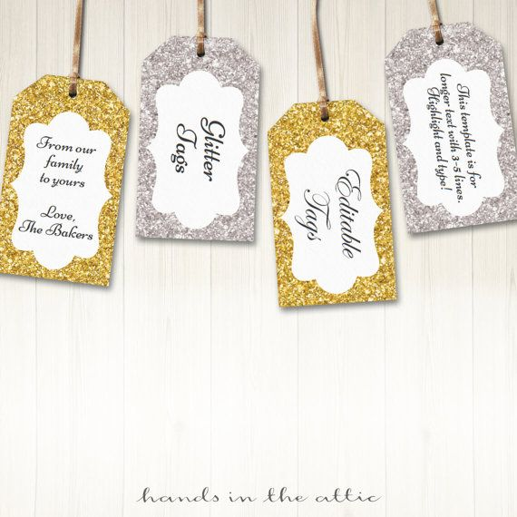 Best Party Gift  Favor Tags Images On   Favor Tags