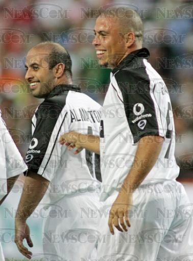 Maktoum bin Hasher Al Maktoum y Ronaldo