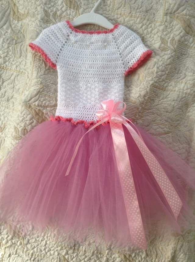 Tüllruha/ tüllruha dress forint baby #Handmade