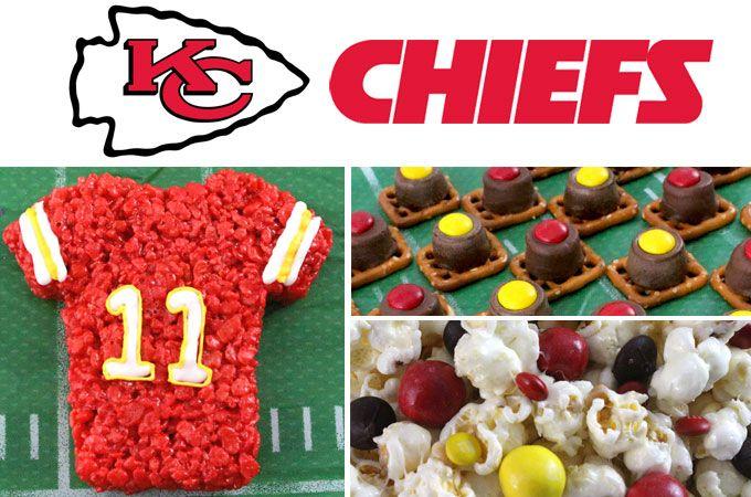 Kansas City Chiefs Game Day Treats