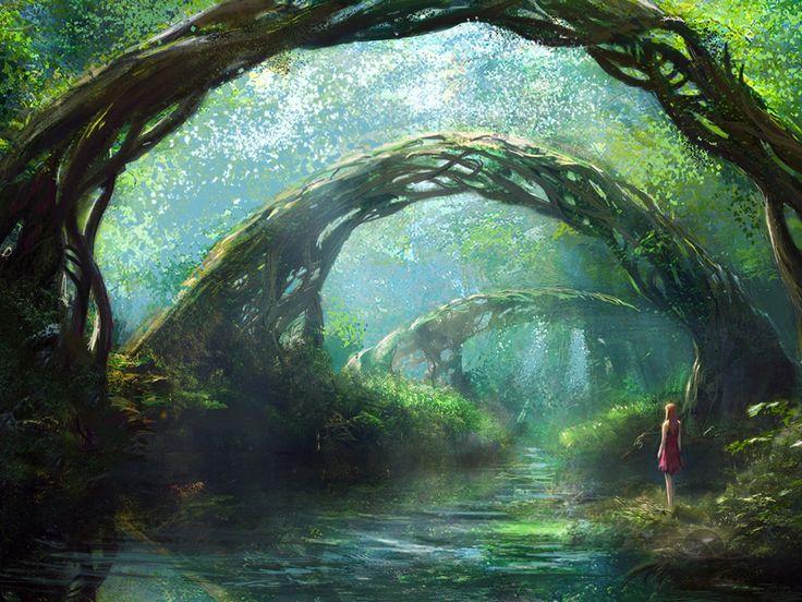 Aldorský les - Stránka 6 28a37754ed788b279bd90336dc11ce25--fantasy-forest-fantasy-world
