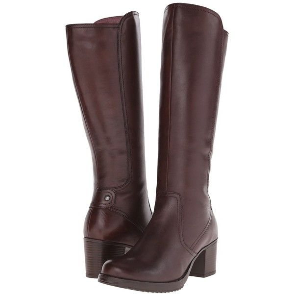 Dansko Ashby Women's Pull-on Boots featuring polyvore, fashion, shoes, boots, knee-high boots, dansko boots, knee boots, knee high boots, genuine leather boots and side zip boots