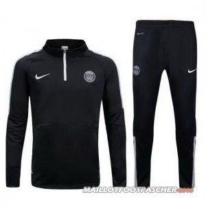 Survetement Foot Entrainement UCL PSG 2015/2016 Noir
