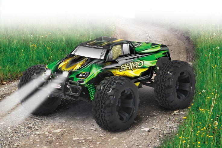 Shiro RC Truggy 1:10 EP 4WD LED NiMh 2,4G Jamara Offroad