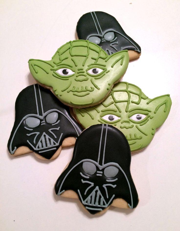 Galletas de Yoda y Darth Vader