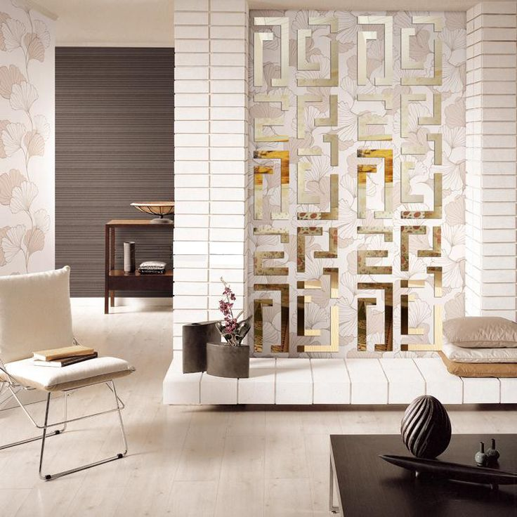 Geometric Designed Reflective Wall Stickers with Striking 3D Effect