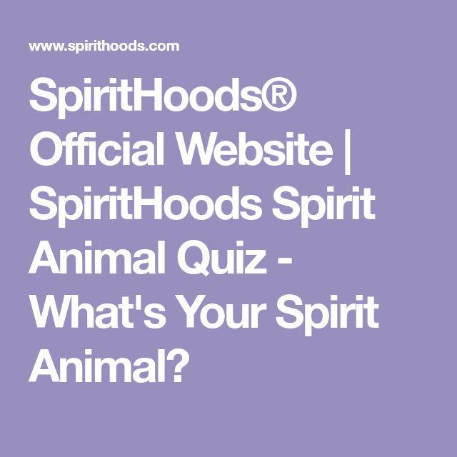 SpiritHoods® Official Website | SpiritHoods Spirit Animal Quiz - What's Your Spirit Animal?