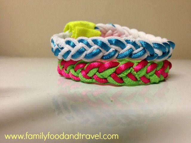 Easy to Make T-shirt bracelet!