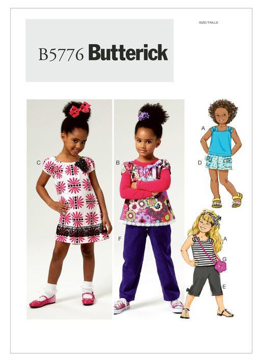 Children, Girls & Boys | Butterick Patterns | Sewing: Patterns-Baby ...