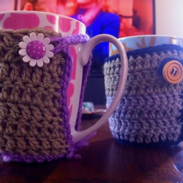 Mug warmers :)