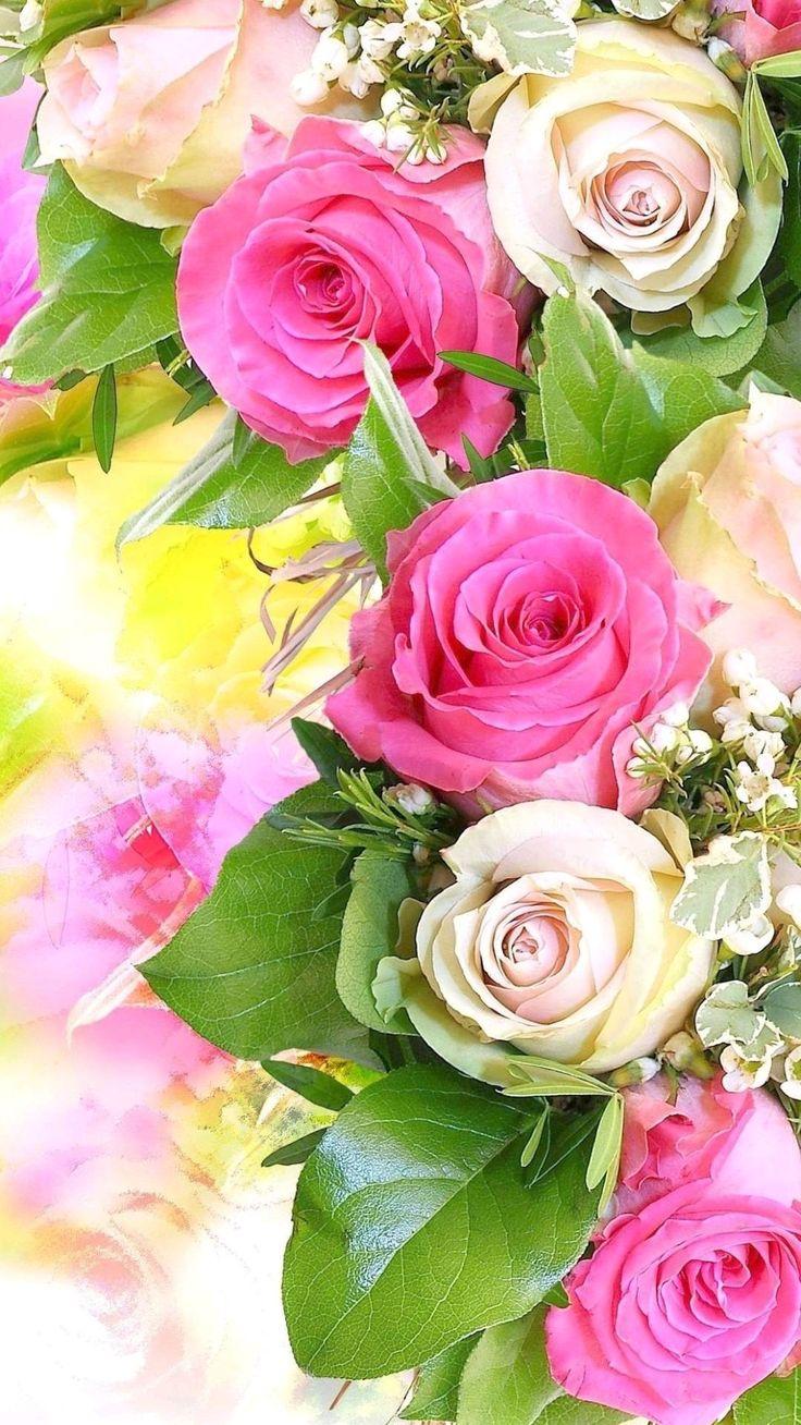 Поздравление года, картинки цветы вертикальные