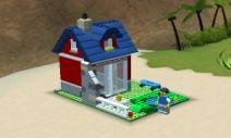 - это целый фантастический мир островов, автомобилей и другого транспорта, домов, строений, которые можно здесь создавать из кубиков лего. Основная миссия строителя - построить центральный остров, на котором будут обитать фигурки LEGO Creator. В игры лего интересно играть примерно с 5 лет.