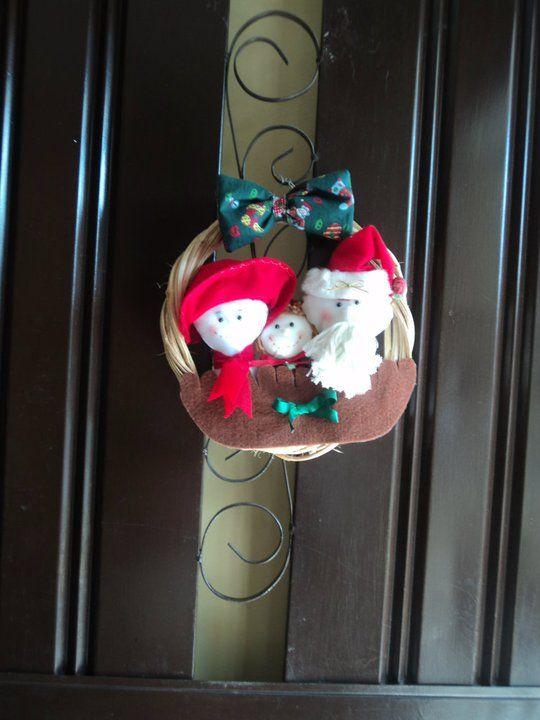 navidad juego para puerta