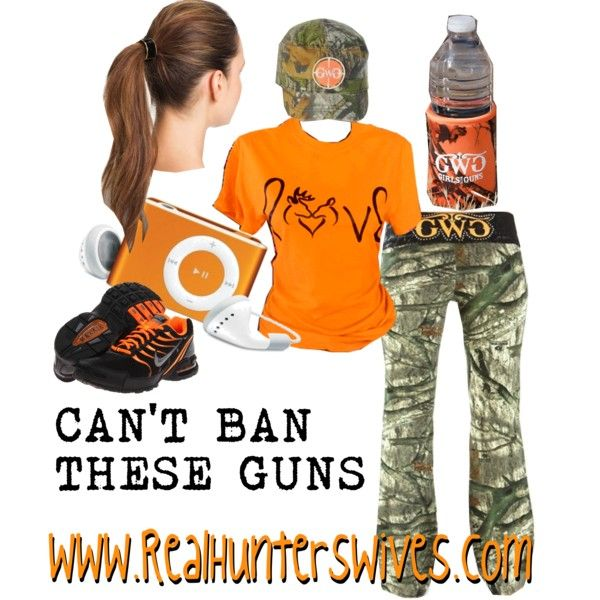 """""""CAN'T BAN THESE GUNS"""" by realhunterswives on Polyvore"""