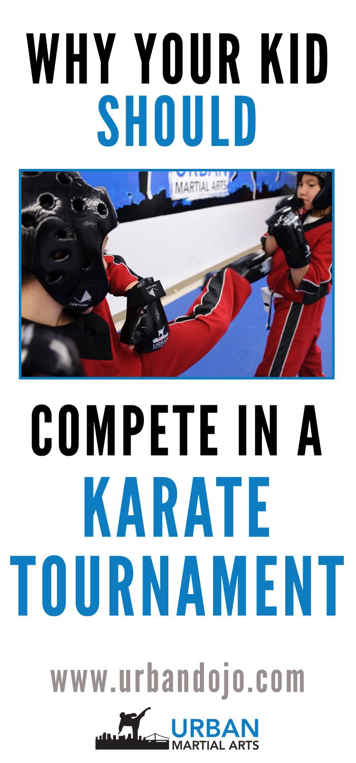 Trying to decide if your child should compete in a karate tournament? Here are five great benefits of competing in a karate tournament.
