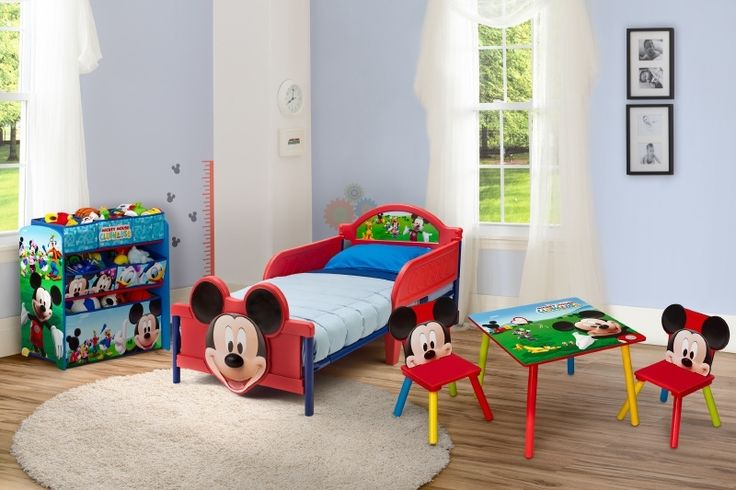 Complete Mickey Mouse Kamer - Delta Children