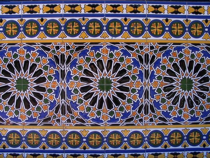 Plaza espana seville azulejos tiles http www for Azulejos cadiz