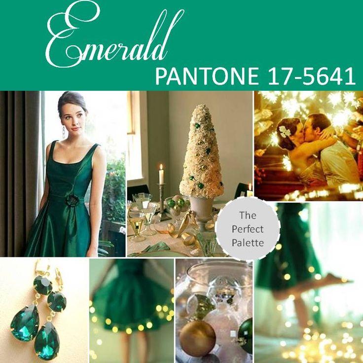 green gold wedding inspiration board