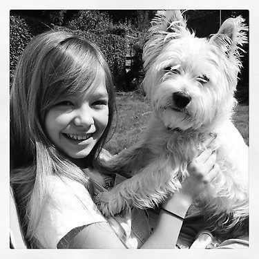 Connie Talbot and Minty :)