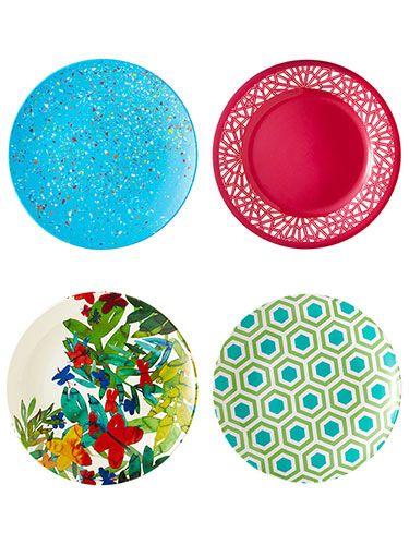 Melamine Outdoor Dinnerware | Outdoor Plates