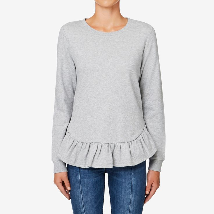 Shop now: Frill Hem Sweat. #seedheritage #seed #woman