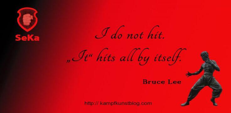 Bruce Lee Zitat: Was genau meinte er damit?