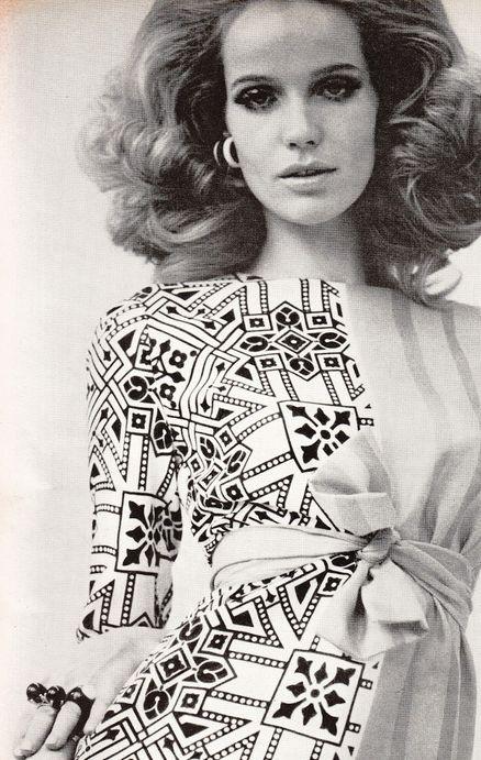 Veruschka, Vogue US, 1967