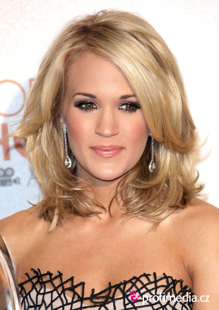Carrie Underwood shoulder length | Hair Heaven | Pinterest