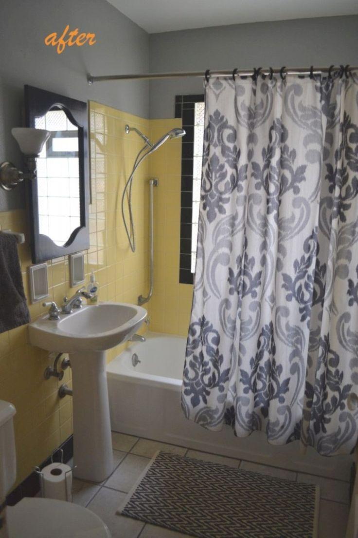 50 Yellow Tile Bathroom Paint Colors Ideas Yellow