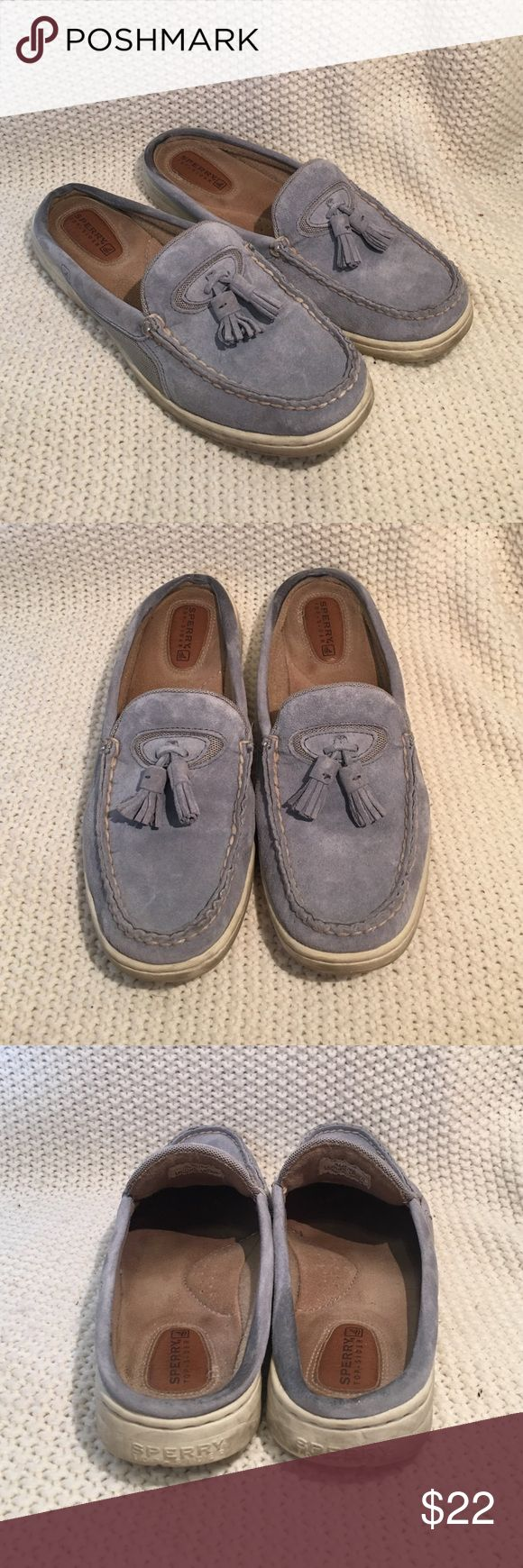 💥End of Summer Sale💥Sperry Slip On Boat Shoes Gorgeous suede blue Sperry slip ons. Great condition. No issues. Sperry Top-Sider Shoes Flats & Loafers