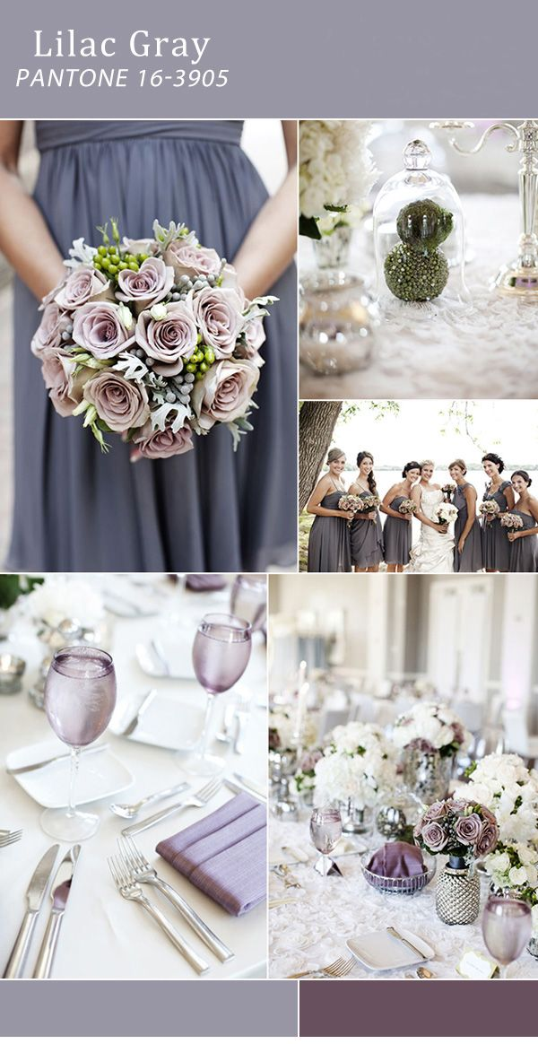 lilac gray wedding - Поиск в Google